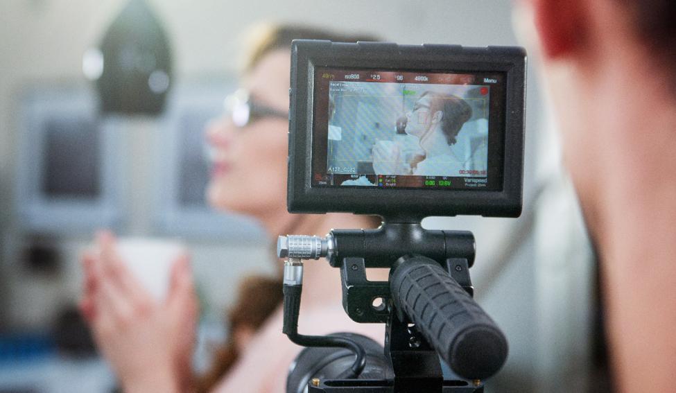 professional video shoot